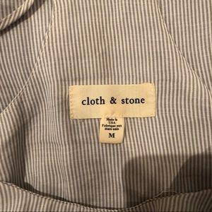 cloth & stone Tops - Cloth & Stone Striped Tank Top